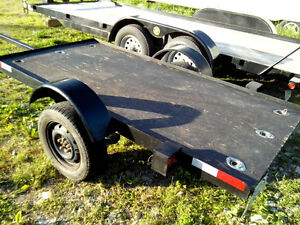 Trailer Rental Montreal platform  4'X8' 25.$ Per Day