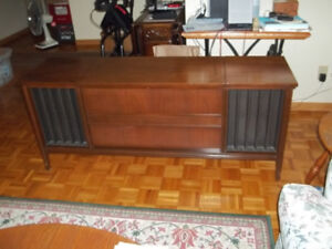 Mid century modern stereo cabinet - unique flatcreen TV stand