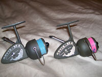 2 Moulinets ORVIS 50A ULTRA Spinning Reels Vintage ITALY