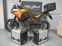 "KTM 1190 ADVENTURER 2014 64' Plate, ORANGE ""Fully loaded"" mint bike !!"
