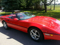 1987 Corvette Convertible Tuned Port Leather