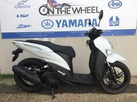 2016 YAMAHA XENTER 125 COMPETITION WHITE, BRAND NEW! ON THE ROAD