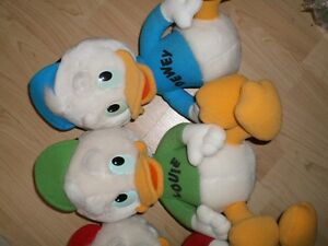 DUCK TALES stuffed Huey, Duey and Louie Ducks Cambridge Kitchener Area image 3