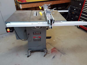 "King Industrial 2HP 10"" Table Saw"