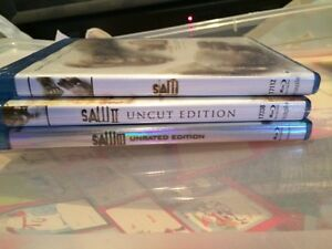 Bluray Saw 1, 2, & 3 unopened Oakville / Halton Region Toronto (GTA) image 1