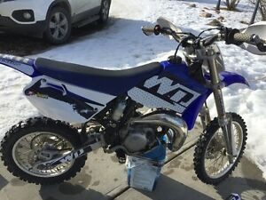 For sale yz85 with a 105cc big bore kit