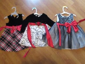 Holiday Dresses Size 18 Months
