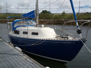 26 ft Grampion Sailboat with trailer