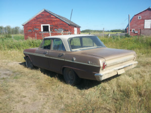 62, 63 and 64 pontiac acadians, will trade for camper van
