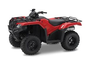 2018 Honda TRX 420 Rancher (save big in the month of april)