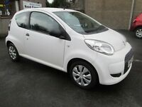 Citroen C1 1.0I VT 68HP WITH ONLY 30667 MILES - DRIVE AWAY TODAY - (white) 2010