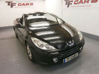 Peugeot 307 CC 1.6 Coupe - FINANCE FROM ONLY £18 PER WEEK!