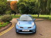 2010 Nissan Micra 1.2 N-TEC 3 Door Hatchback Blue *37,000 Miles*1 Lady Owner*