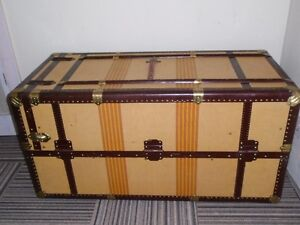 ANTIQUE STEAMER TRUNK FROM ITALY (IN NELSON CITY LIMITS)
