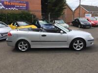 2005 Saab 9-3 2.0 T Vector Convertible 2dr Petrol Manual (206 g/km, 150