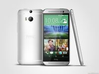 HTC One M8 - 16GB - Silver (Unlocked) - Excellent Condition