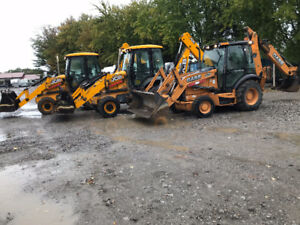 (TWO) 2015 JCB 3cX BACKHOE LOADER 4x4 , FINANCING AVAILABLE