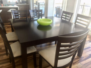 8 Bermex Dining Room Chairs  (top quality)