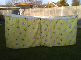 Yellow Children's SpongeBob Curtains