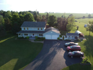 Spectacular 6 + 1 bedroom home on 13 acres close to Orangeville
