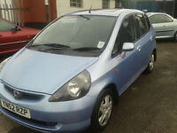 2002 Honda Jazz 1.4 i cc SE ( JUST £700 ono TO CLEAR )