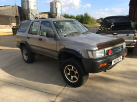 Wanted 4x4 Toyota Hilux Surf Nissan Terrano 2.7 Ford Maverick breaking
