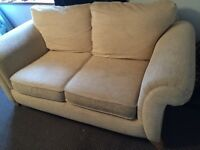 Oatmeal 2/3 seater sofa - possible delivery