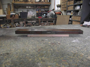 Antique Stanly Carpenters Level Rosewood with Brass binding