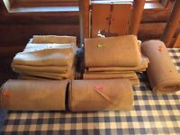 Burlap table runners  located inTilden lake