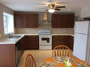 All inclusive two bedroom walk out basement apartment