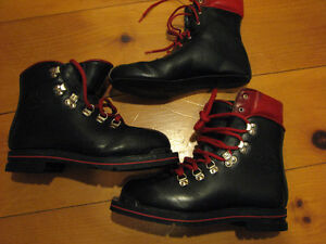 Leather Double Telemark Boots