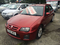MG ZR 1.4 105 ONLY 1 OWNER FROM NEW 38.059 MILES