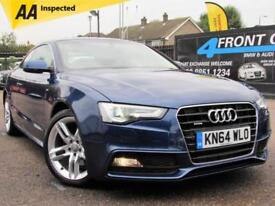 2014 AUDI A5 2.0 TDI QUATTRO S LINE 2DR COUPE 6 SPEED MANUAL DIESEL COUPE DIESEL