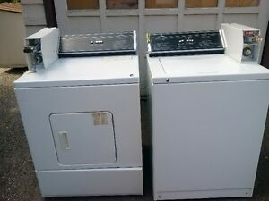 commercial coin operated washer and dyer