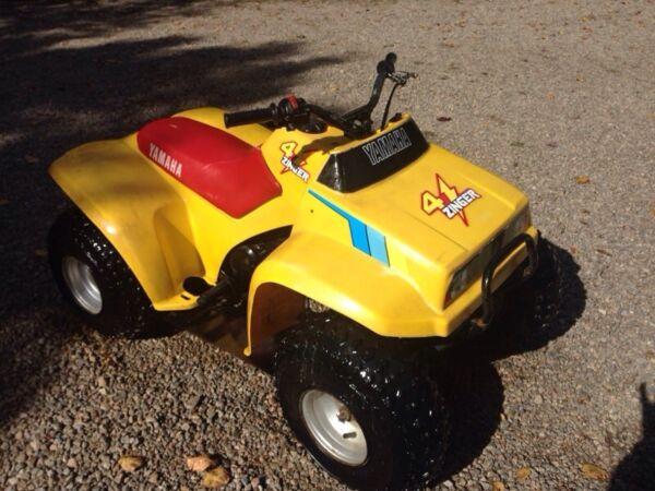 Used 1986 Yamaha 4 ZINGER 60 CC