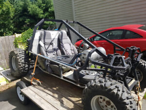 Homemade dune buggy