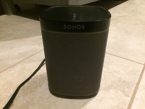 Sonos play one speaker- never been used