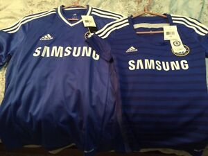 Never Worn Chelsea Jerseys Med and XS