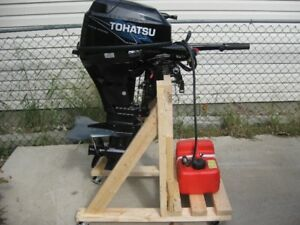2014 Tohatsu 15 Hp Four stroke Outboard
