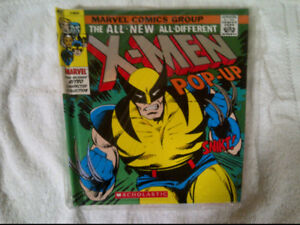 (1) Marvel X-Men & (1) Marvel Spider-Man Pop Up Books $10 each
