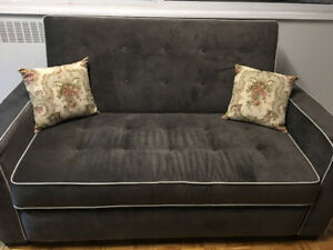 SOFA BED FOR SALE WITH SERTA MATTRESS - NEVER SLEPT ON - $700.00
