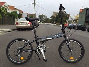 "TRVE 20"" Alloy Shimano 6 Speed Folding Bike Brunswick Moreland Area Preview"
