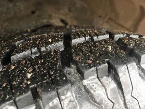 245/70r16 4 studded Tires on Rims