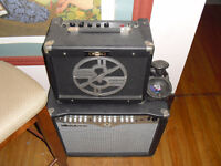 2 x Tube Amplifiers 40w 10w Amp Ashdown and Electro Epiphone