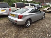 Toyota celica 1.8 vvti 2004 full black leather