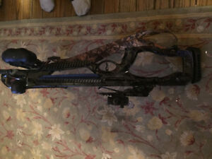 New Compound bow and case and accessories