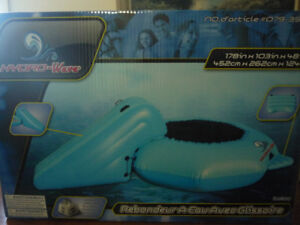 Water Trampoline With Slide