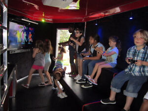 BIRTHDAY PARTY IN A MOBILE VIDEO GAME TRAILER Windsor Region Ontario image 1