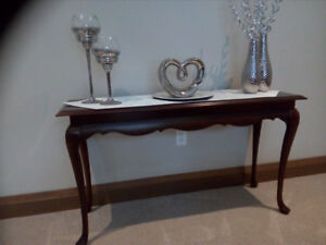 Solid Cherry CONSOLE Table (By Strathroy Furniture)