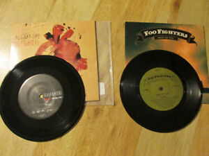 FOO FIGHTERS Album Record 7 Vinyl Lot Best of You Nirvana Grohl